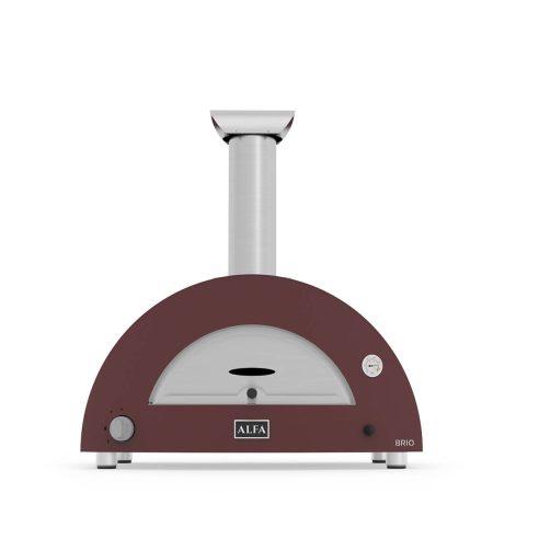 Alfa Forni - Brio Forno Pizza Ibrido a Legna e Gas da Esterno per la Casa