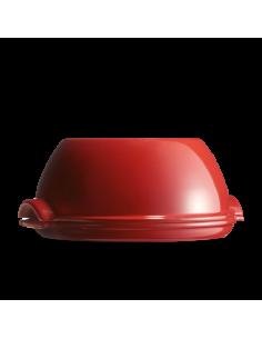 Emile Herny - Stampo Cuoci Pane Tondo in Ceramica 32 cm Rosso EH349507