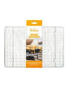 Decora - Griglia raffredda torte in acciaio inox