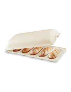 Emile Henry - Stampo cuoci pane sandwich in ceramica lino crema