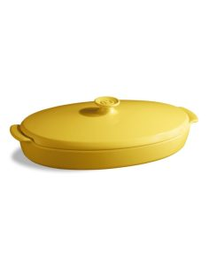 Emile Henry - Pentola Papillotes in ceramica jaune proven giallo