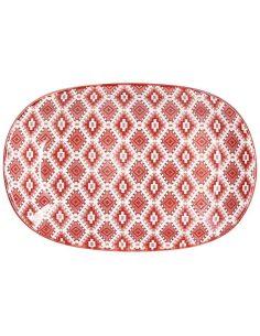 Tognana - Piatto ovale da portata in ceramica 28 cm linea ethnic