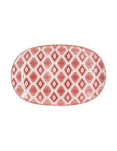 Tognana - Piatto ovale da portata in ceramica 23 cm linea ethnic