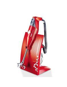Bamix – SwissLine Rosso – Robot da Cucina Frullatore ad Immersione