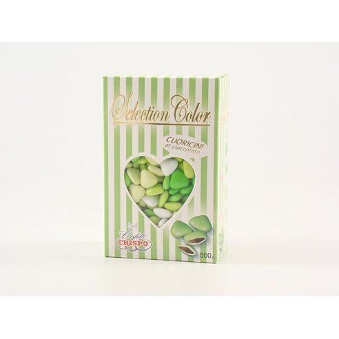 Crispo - Confetti Cuoricini Verdi 500gr