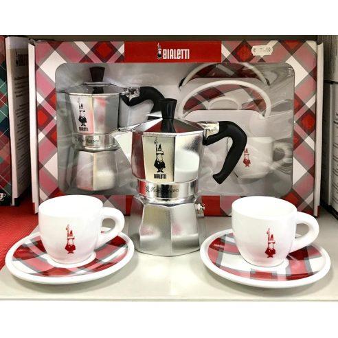 CAFFETTIERA 6 TAZZE MOKA MOKINA  COLAZIONE CAFFE/'