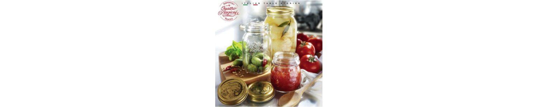 Vasetti e barattoli in vetro per conserve e contenitori - Vendita online